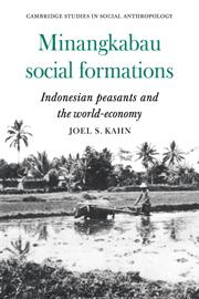 Minangkabau Social Formations