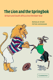 The Lion and the Springbok