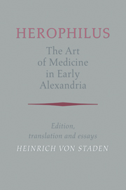 Herophilus: The Art of Medicine in Early Alexandria