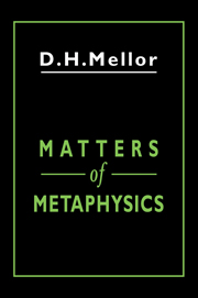 Matters of Metaphysics