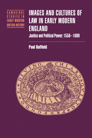 Images and Cultures of Law in Early Modern England