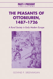 The Peasants of Ottobeuren, 1487–1726
