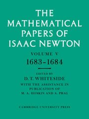 The Mathematical Papers of Sir Isaac Newton