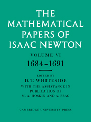 The Mathematical Papers of Isaac Newton