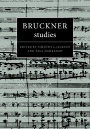Bruckner Studies