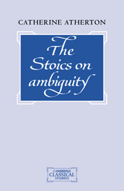 The Stoics on Ambiguity