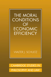 The Moral Conditions of Economic Efficiency