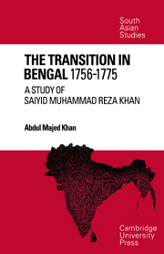 The Transition in Bengal, 1756–75