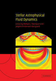 Stellar Astrophysical Fluid Dynamics