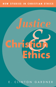 Justice and Christian Ethics