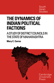 The Dynamics of Indian Political Factions