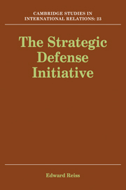 The Strategic Defense Initiative
