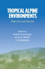 Tropical Alpine Environments