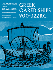 Greek Oared Ships 900–322 BC