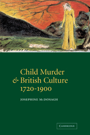 Child Murder and British Culture, 1720–1900