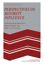 Perspectives on Minority Influence