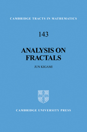 Analysis on Fractals