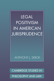 Legal Positivism in American Jurisprudence