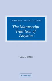 The Manuscript Tradition of Polybius