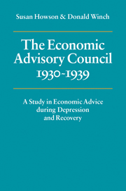 The Economic Advisory Council, 1930–1939