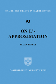 On L1-Approximation