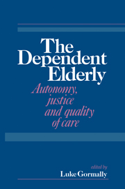 The Dependent Elderly