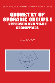 Geometry of Sporadic Groups