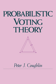 Probabilistic Voting Theory