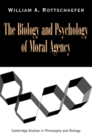 The Biology and Psychology of Moral Agency