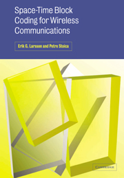 Space-Time Block Coding for Wireless Communications
