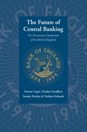 The Future of Central Banking