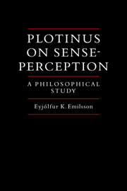 Plotinus on Sense-Perception