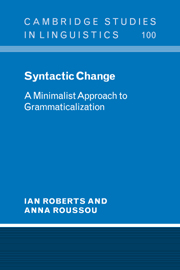 Syntactic Change