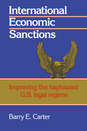 International Economic Sanctions