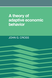 A Theory of Adaptive Economic Behavior
