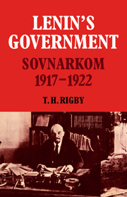 Lenin's Government