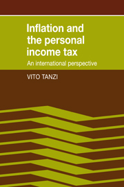Inflation and the Personal Income Tax