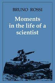 Moments in the Life of a Scientist
