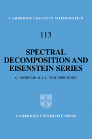 Spectral Decomposition and Eisenstein Series