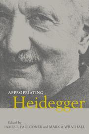Appropriating Heidegger