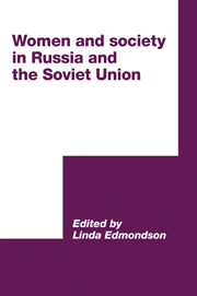 Women and Society in Russia and the Soviet Union