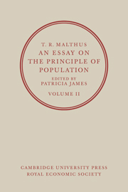 T. R. Malthus, An Essay on the Principle of Population