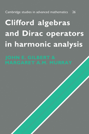 Clifford Algebras and Dirac Operators in Harmonic Analysis