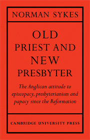 Old Priest and New Presbyter