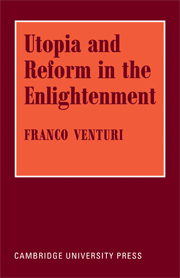 Utopia and Reform in the Enlightenment