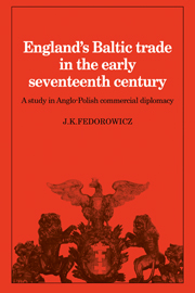 England's Baltic Trade in the Early Seventeenth Century