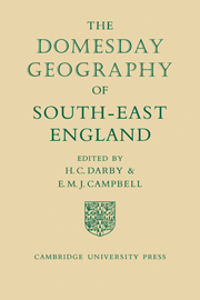 The Domesday Geography of South-East England