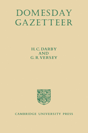 Domesday Gazetteer