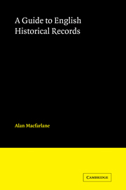 English Historical Records