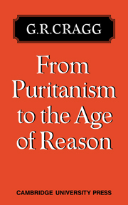 From Puritanism to the Age of Reason